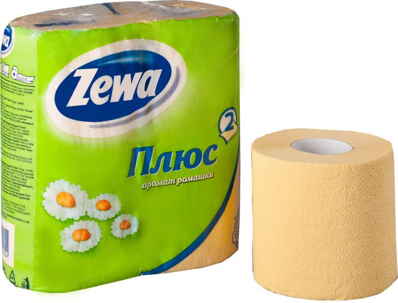 Фото туалетная бумага зева ромашка
