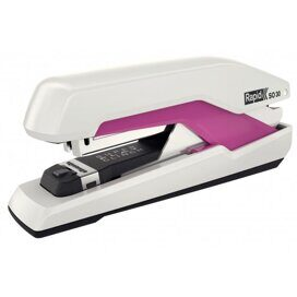 Степлер Rapid Supreme Omnipress Fullstrip SO30 №24/6, №26/6, до 30 листов, розовый