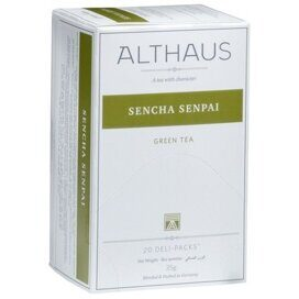 Чай Althaus Deli Packs Sencha Senpai 20 пакx1,75гр/уп