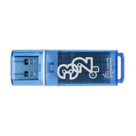 Флеш-память Smartbuy 32GB Glossy series Blue