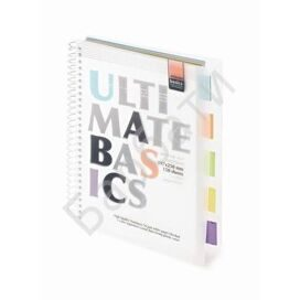 Бизнес-тетрадь Ultimate basics А4 150л.греб с раздел,Альт 10ш в асс.