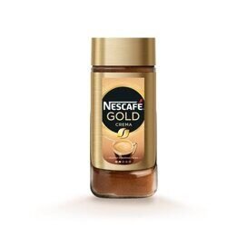 Кофе Nescafe Gold Crema 95г, стекло