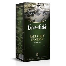 Чай Greenfield Earl Grey Fantasy черный фольгир.25пак/уп