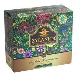 Чай Zylanica Ceylon Premium Collection зел. 100 пакx2гр/уп