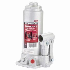 465e5ac03393 Домкрат гидравлический бутылочный 5т MATRIX MASTER, высота подъема  216-413мм, D штока-