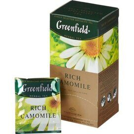 Чай Greenfield Rich Camomile травяной фольгир.25пак/уп